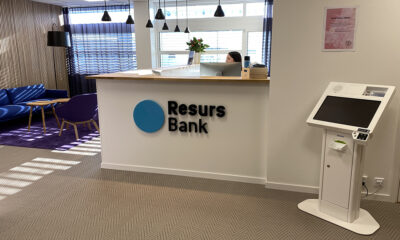 Image for Resurs Bank & Solid Försäkring installerar Check In