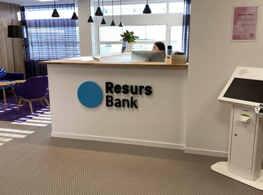 Image for Resurs Bank & Solid Försäkring installerar Check In