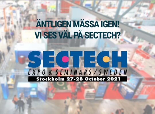Image for Träffa oss på SecTech i Stockholm